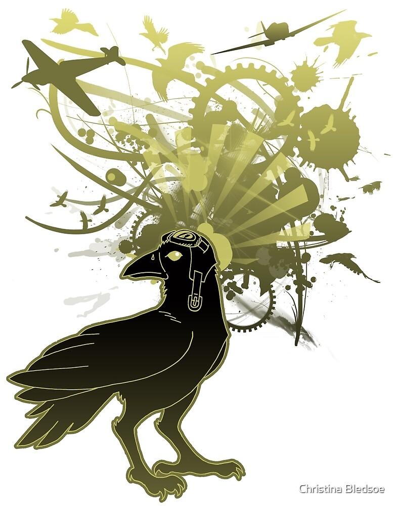 Kamikaze Raven by Christina Bledsoe