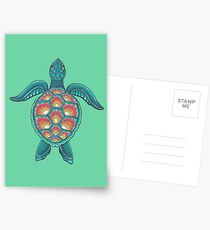Mandala Turtle Postcards