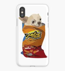 Chihuahua in a cheetos iPhone Case