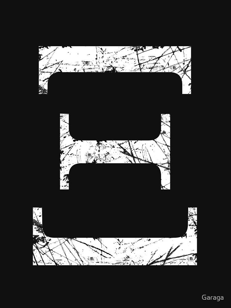 ksi greek letter symbol grunge style unisex t shirt by garaga