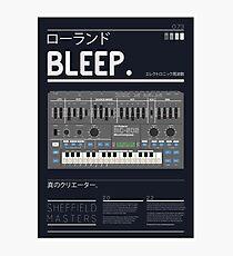 BLEEP_202 Photographic Print