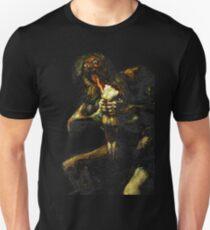 Saturn Devouring His Son - Francisco Goya Unisex T-Shirt