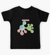 Healthy Lifestyle infographics Kids Tee