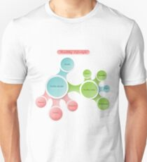 Healthy Lifestyle infographics Unisex T-Shirt