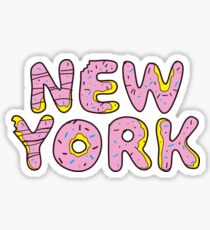 Sweet New York Sticker