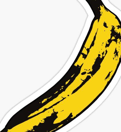 Punk Banana Sticker