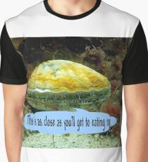 Vance, the King scallop stands his ground Graphic T-Shirt