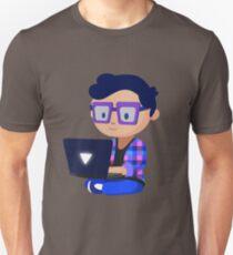 Cute Hipster Geek Unisex T-Shirt