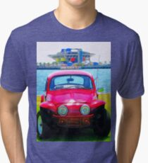 Bug And The Pier Tri-blend T-Shirt
