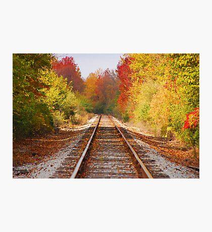 Fading Tracks Photographic Print