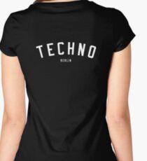 TECHNO BERLIN Women's Fitted Scoop T-Shirt