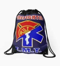 Firefighter-EMT Drawstring Bag