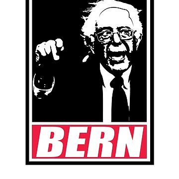 Feel the BERN - Support Bernie Sanders! by slugamo
