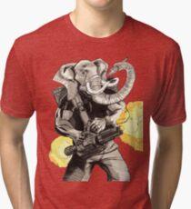 Projectile Pachyderm Tri-blend T-Shirt