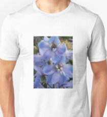 Blue Delphinium Unisex T-Shirt