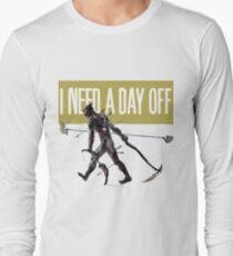 warframe i need a day off Long Sleeve T-Shirt