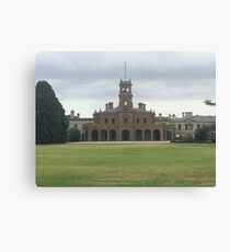 Mansion at Werribee Canvas Print