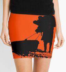 The D is silent Mini Skirt