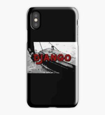 The D is silent iPhone Case