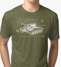 Cromwell Tank Mark VII Tri-blend T-Shirt
