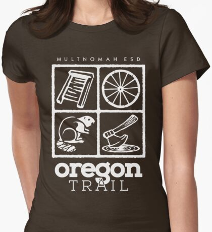 Oregon Trail Logo (scw) T-Shirt