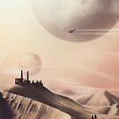 Sci Fi Desert by ashraae