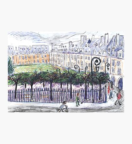 Place des Vosges from Number 23 Photographic Print