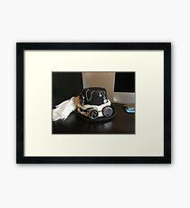Steampunk Hat Framed Print