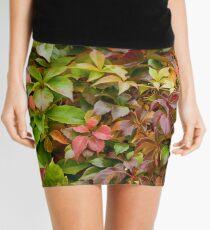 Denmark - Copenhagen - leaves on wall Mini Skirt