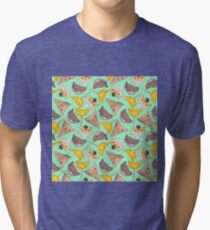 """Oro?"" Series Ice Cream Turquoise Tri-blend T-Shirt"
