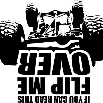 If you can read this flip me over by jeepstyletees