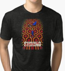 come play with us Tri-blend T-Shirt