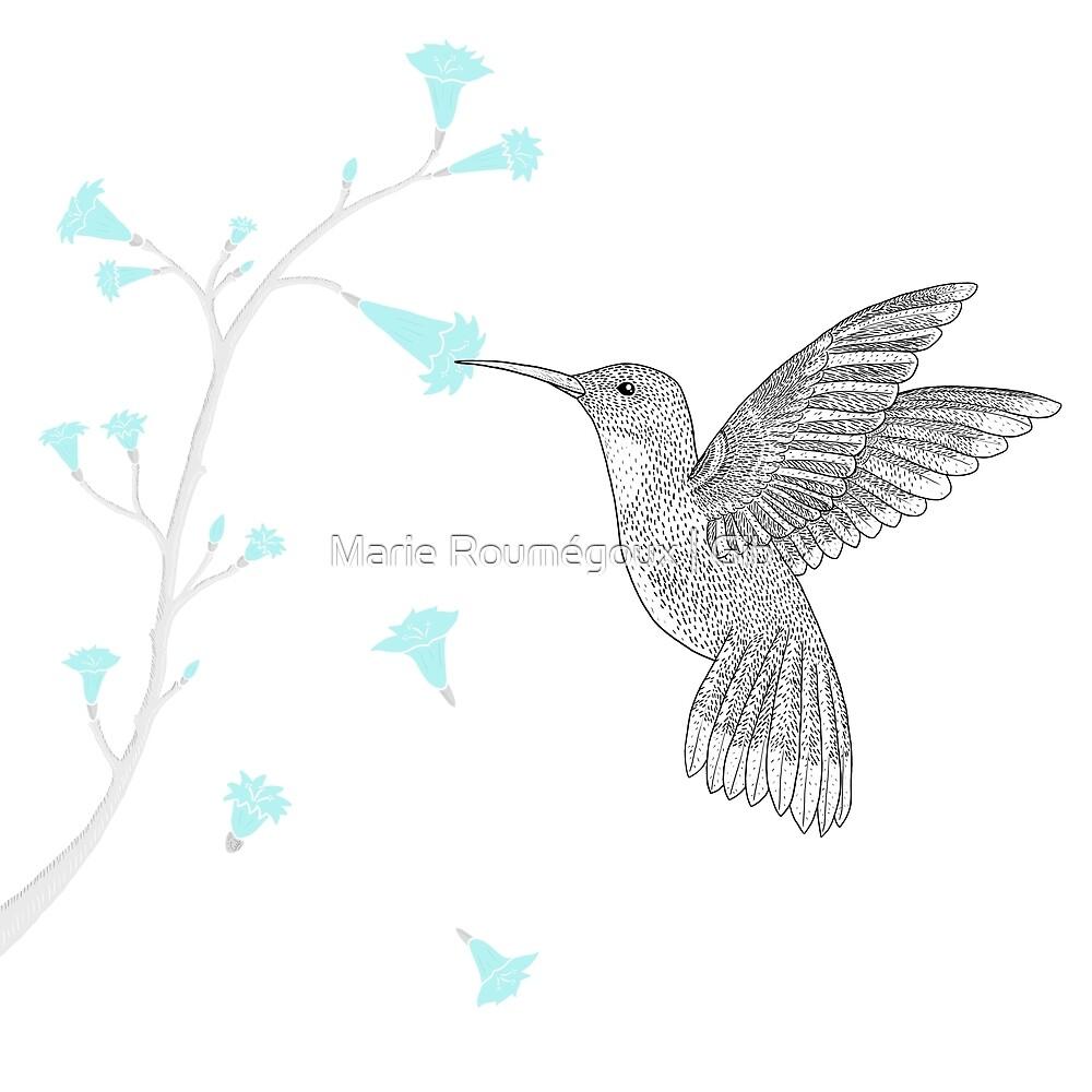 Hummingbird by Marie Roumégoux | Gib