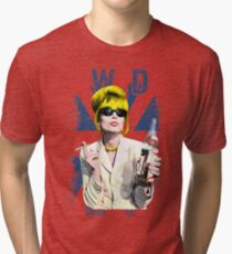 What Would Patsy Do, Sweetie? Ab Fab. Absolutely Fabulous. Patsy Stone. Edina.  Tri-blend T-Shirt