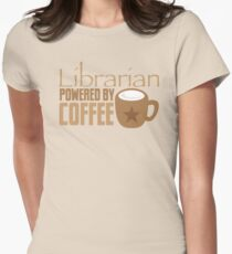 Librarian powered by Coffee T-Shirt