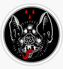The Vampire Bat Sticker