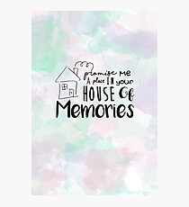 House of Memories Photographic Print