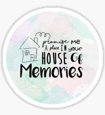 House of Memories Sticker