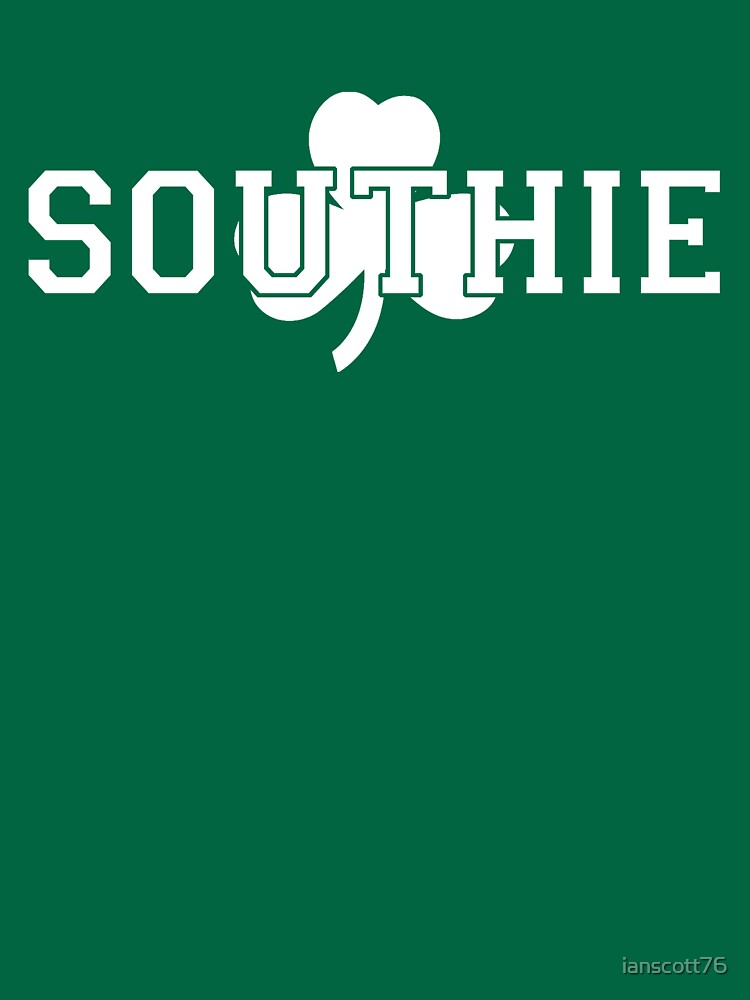 Southie (white on green) by ianscott76