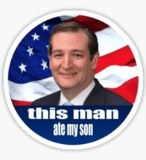 Ted Cruz ist ein Monster 2016 Sticker