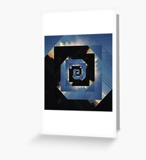 The Impossible Space  Greeting Card