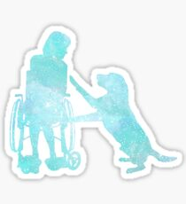 Assistance Dog Sticker