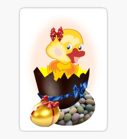 Easter Chick (4660 Views) Sticker