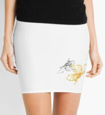 Tranquil Goldfish Mini Skirt