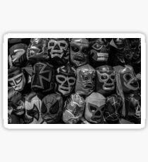 Lucha Libre Wrestling Mask Sticker