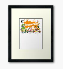 Ultimate Nickelodeon Nicktoons  Framed Print