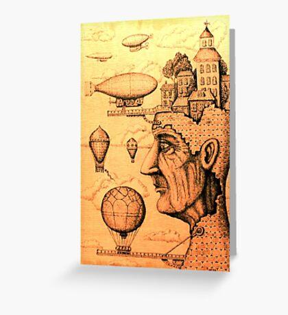Port of Dreams Greeting Card