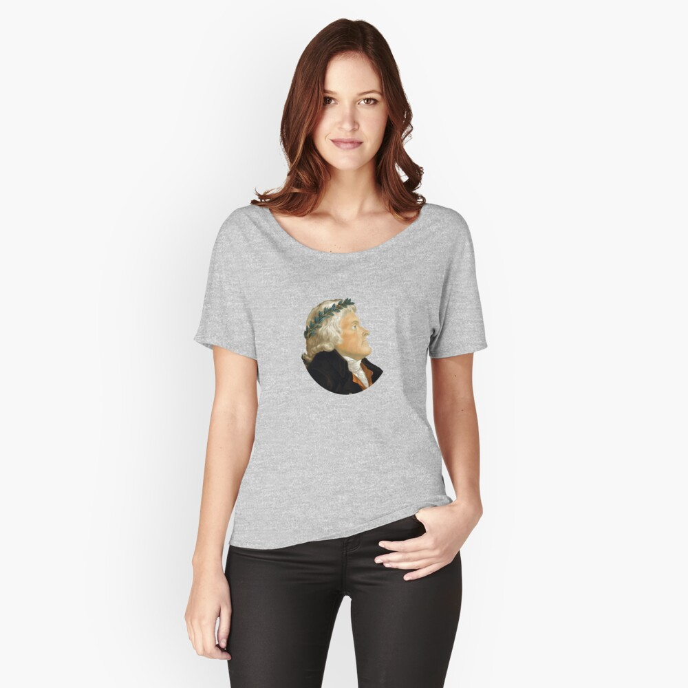 Präsident Thomas Jefferson Loose Fit T-Shirt