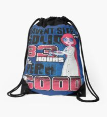 Sleepless in the Candy Kingdom Drawstring Bag