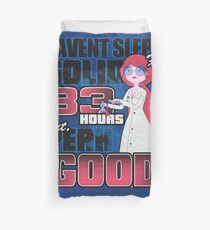 Sleepless in the Candy Kingdom Duvet Cover